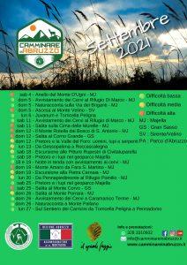 Il Calendario di Camminare in Abruzzo